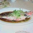 魚の蒸し物