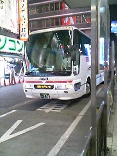 夜行バス!