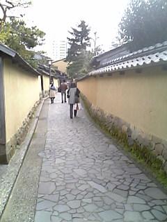 金沢長町武家屋敷街
